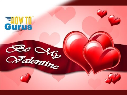 how to make a two hearts valentines day card photoshop elements 2018