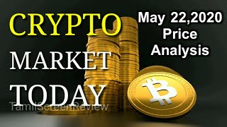 Bitcoin Technical Chart Intra day Price Analysis| May 22,2020| Aravindharaj |Crypto Market Today