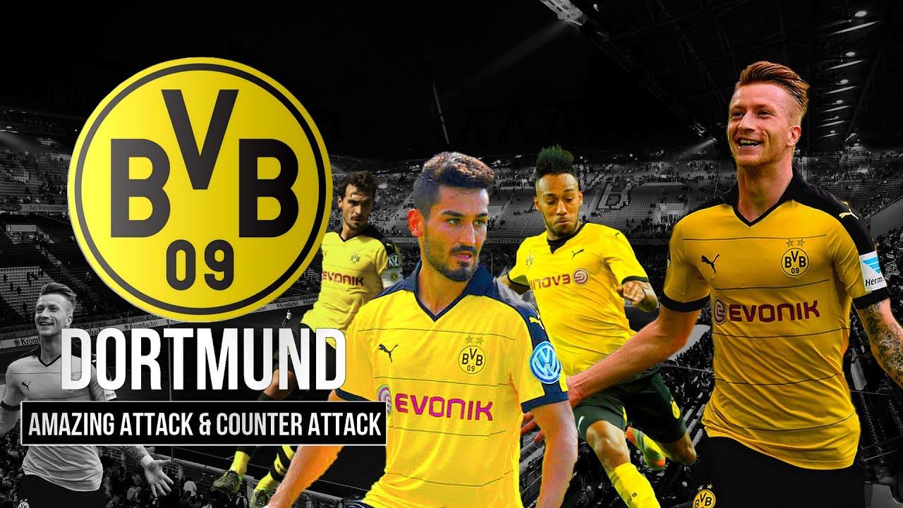 Borussia Dortmund Amazing Attack Counter Attack 2015