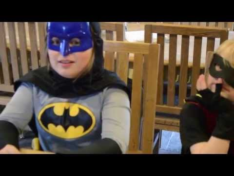 Trouble in Gotham City  (A Little Batman & Robin Kid Friendly Fan Short #2)