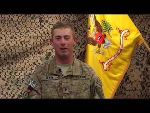 WYOMING Holiday Military Greeting
