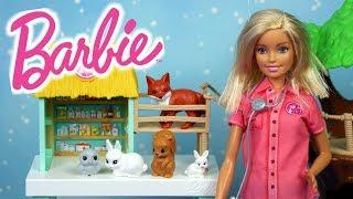 Barbie Weterynarz • Centrum opieki nad zwierzętami • Bajki dla dzieci
