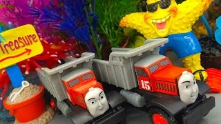 Thomas & Friends Max & Monty Wooden Railway Toy Train Review By Mattel Fisher Price Character Friday
