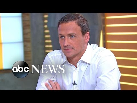 Ryan Lochte Speaks Out About Alleged Rio Robbery