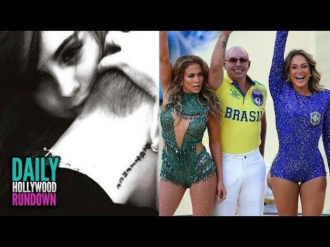 Justin Bieber & Selena Gomez BACK TOGETHER! & Jennifer Lopez's World Cup Performance (DHR)