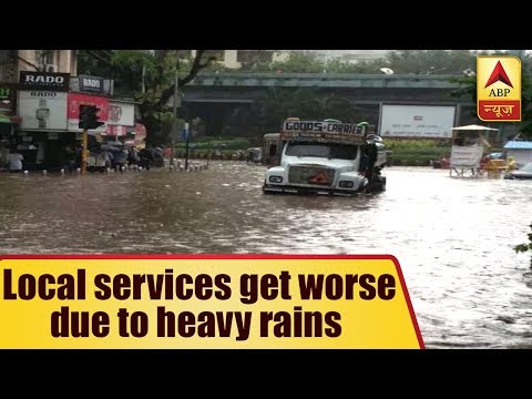 Mumbai Rain: Local services get worstly affected as heavy rain continues, school and colle
