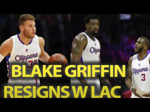Blake Griffin Makes HUGE MISTAKE. Resigns With Los Angeles Clippers Without PG Chris Paul