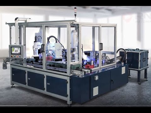 RND Automation's Hydraulic Solenoid Assembly Machine