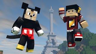 Minecraft Mods: ESCADONA - Disney em Paris ‹ AM3NIC ›