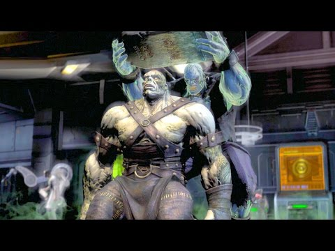 Injustice Gods Among Us All Super Moves on Solomon Grundy Earth 2 Costume Ultimate Edition PC
