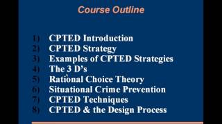 CPTED Training