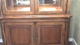 Furniture Spotlight:  Century Amaretto Country House China Cabinet  - Piece Of The Week