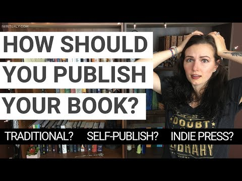 How Should You Publish Your Book? | Traditional Publishing, Self-Publishing, Indie Press, & Vanity