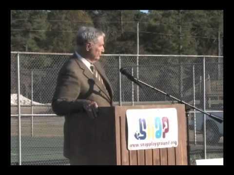 Gene Stallings At Hartselle Alabama's SNAP Dedication - Part 3