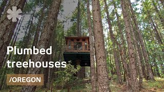"Fully Plumbed Diy Treehouses & Tree-cabin In Or ""treesort"""