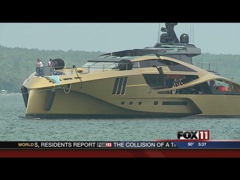 New yacht launched in Sturgeon Bay