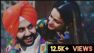 Mere Wala sardar 2 ( Mere wali sardarni) ||Tushar Arora ||Full screen status|| Romentic Punjabi song