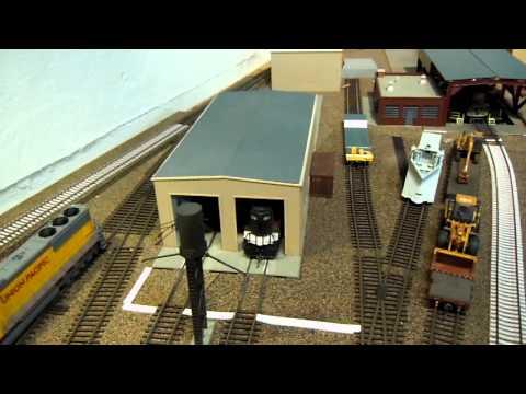 Saratoga Layout Update 6: Rail Facilities