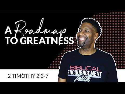 A Roadmap to Greatness [AUDIO SERMON]