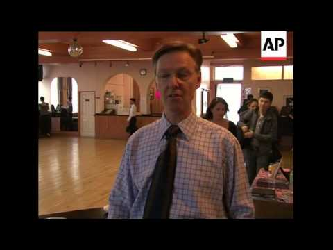A ballroom dance studio that attracts international dancers