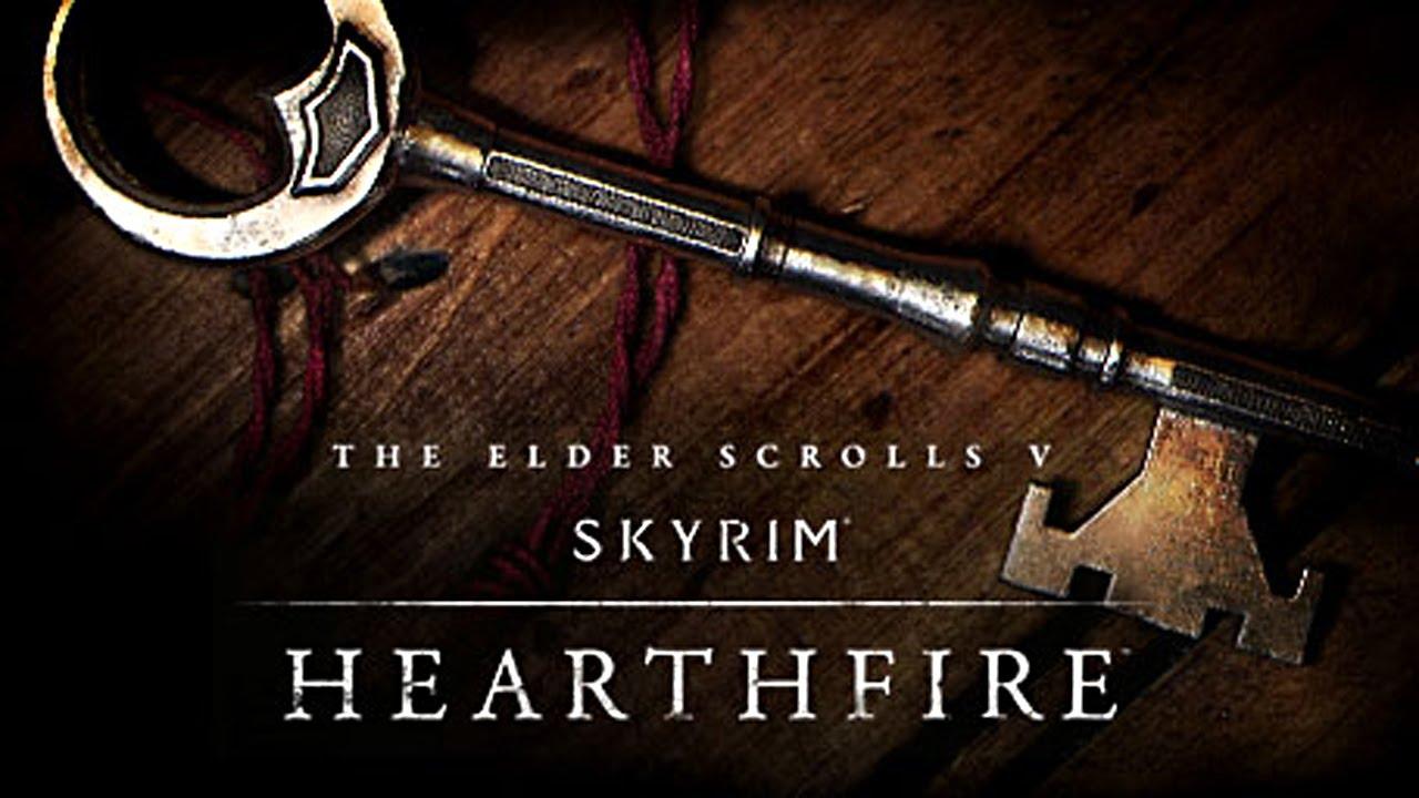 Skyrim Hearthfire 03 Aménager La Petite Maison