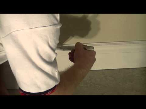 How To Paint MDF Baseboard