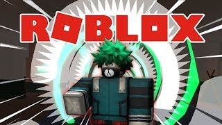 Showcase Quirk Deku One For All | Heroes Online | Roblox Indonesia #52