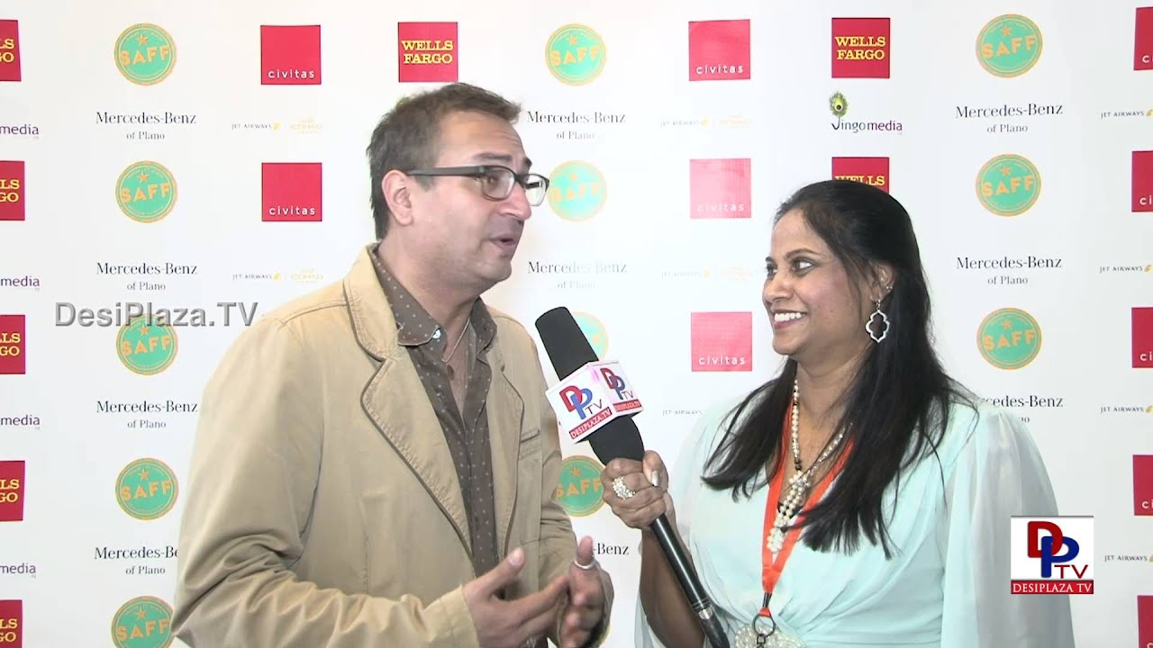 Jitin Hingorani - Organizer of South Asian Film Festival speaking to desiplaza TV