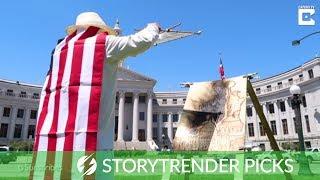 Incredible Artwork Of US Landmarks Made With Sun Rays