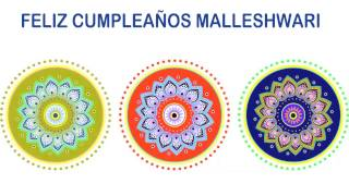 Malleshwari   Indian Designs - Happy Birthday