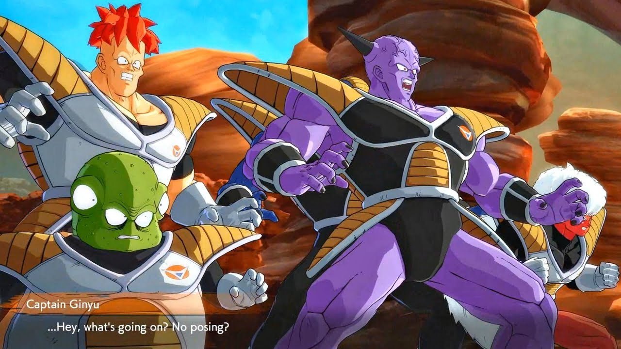 Dragon Ball Fighterz Ginyu Force Freak Out At Clone For Not Posing Youtube
