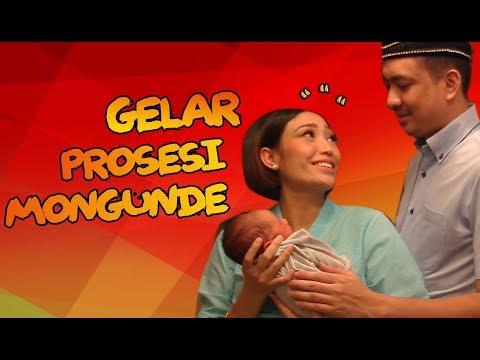 Ayu Dewi Gelar Prosesi Adat Mongunde Untuk Bayi Yang Baru Di Lahirkannya