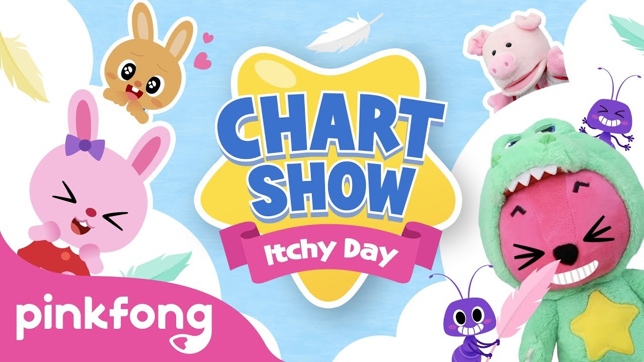 Pinkfong Chart Show: A Very Itchy Day! | Pinkfong Baby Shark Chart Show | Pinkfong Show for Children