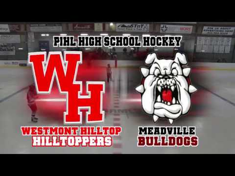 Westmont Hilltop vs Meadville High School Hockey