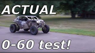 Maverick X3 And Rzr Turbo S 0-60, 30 Vs 32 Inch Tires!