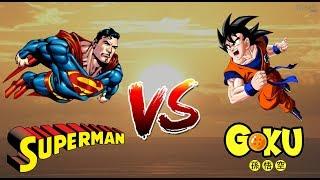 Combate do século: SUPERMAN VS GOKU
