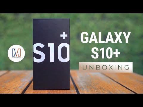 Samsung Galaxy S10+ Unboxing (S10 Plus)