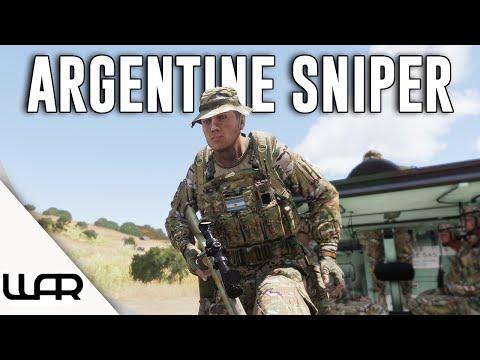 💀 ARGENTINE SNIPER - Second Falklands War - Alternate History - Arma 3 - Episode 5