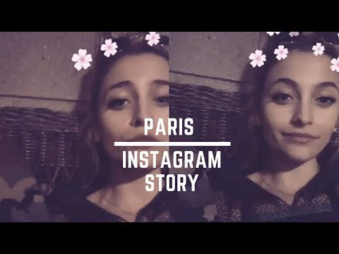 Paris Jackson singing | Instagram Story | 13 March, 2018