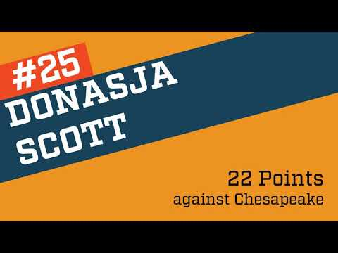 2016-2017 #25 Donasja Scott  Highlights Baltimore City Community College
