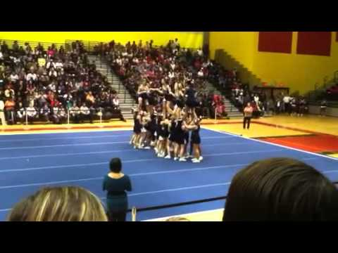 Laplata high school cheer 2012