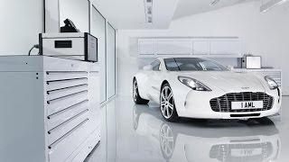 Суперкары Aston Martin One-77.  Экскурсия по Мегазаводу «А