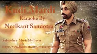 Kuddi Mardi Babbu Maan |Bazz Movie |Babbu Mann | Karaoke Kuddi Mardi|Bazz