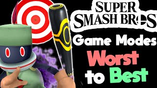 Ranking Every Game Mode in Super Smash Bros