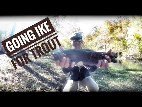Mike Iaconelli Fly Fishing For Trout In Missouri