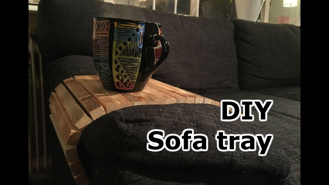 diy sofa tray self adjustable youtube rh youtube com Sofa Arm Tray IKEA Sofa Tray Tables