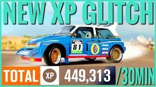 Forza Horizon 3 |New XP Glitch |450'000 XP In 30 Minutes