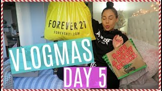 HUGE Cyber Monday & Mall Haul || VLOGMAS DAY 5