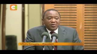 President Kenyatta promises tough action against hate mongers