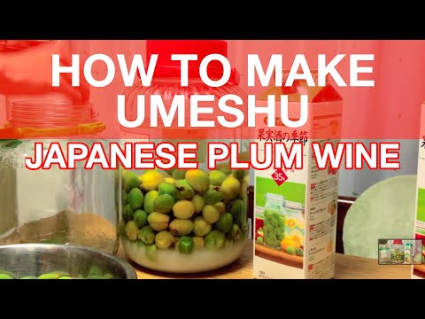 How to Make Umeshu, or Japanese Plum Wine [iPhone 4S/HD]